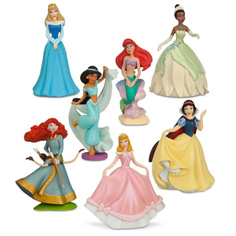 Disney Store Princesas Disney Figure Play Set 1  - Movie Freaks Collectibles