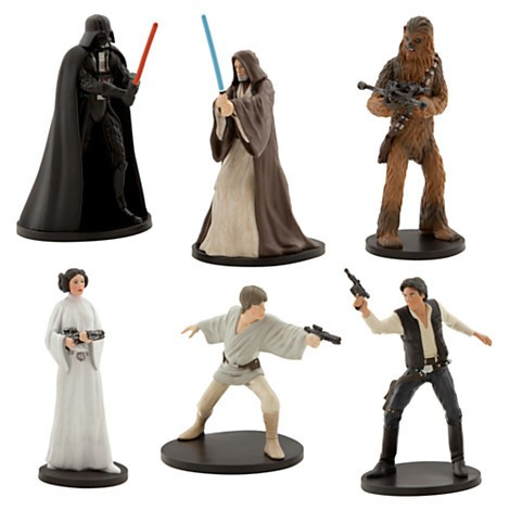 Disney Store Star Wars IV ´´Uma nova esperança´´ Figure Play Set  - Movie Freaks Collectibles