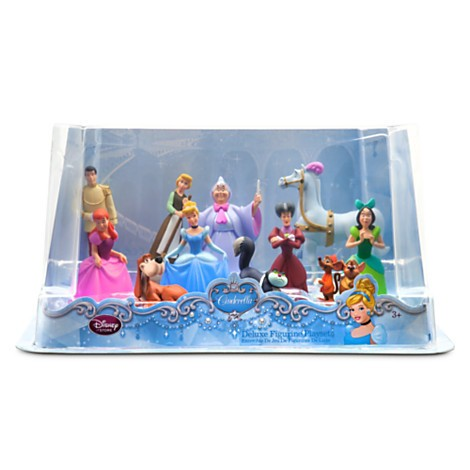 Disney Store Cinderella Deluxe Figure Play Set  - Movie Freaks Collectibles