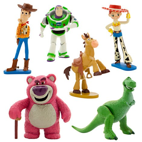 Disney Store Toy Story Figure Play Set  - Movie Freaks Collectibles