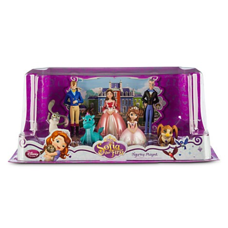 Disney Store Sofia the First Figure Play Set - 2  - Movie Freaks Collectibles