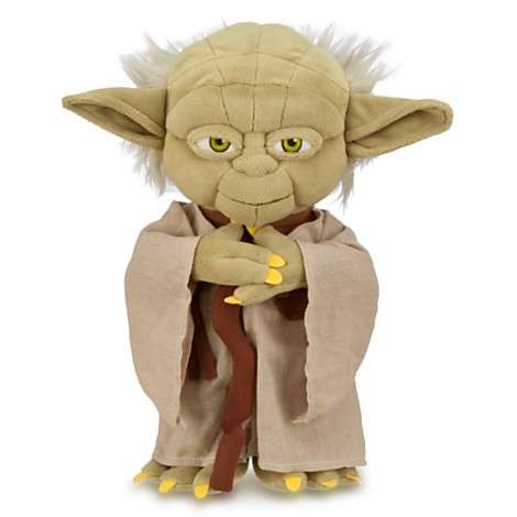 Disney Store Yoda de Pelúcia  - 30cm - Produto oficial e licenciado Disney/Star Wars  - Movie Freaks Collectibles