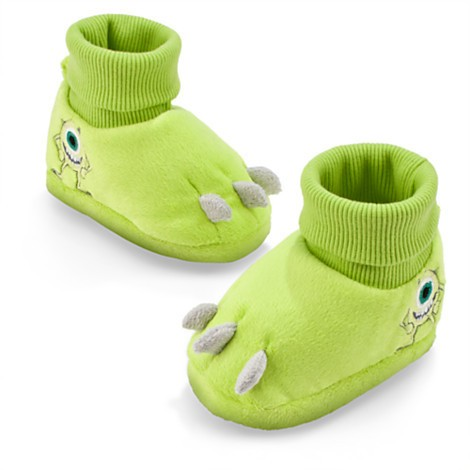 Disney Store Pantufas para bebê Monstros S/A Mike Wazowski 12-18 meses  - Movie Freaks Collectibles