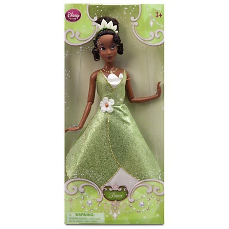 Disney Store Boneca Princesa e o Sapo Tiana - Produto original e licenciado!  - Movie Freaks Collectibles