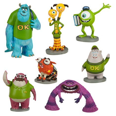 Disney Store Universidade Monstros Figure Play Set  - Movie Freaks Collectibles