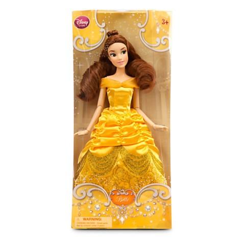 Disney Store Boneca Bela - A Bela e a Fera - Produto original e licenciado!  - Movie Freaks Collectibles