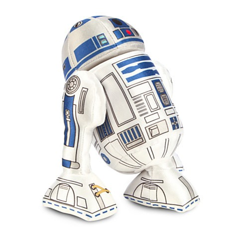 Disney Store R2-D2 Mini Pelúcia  - 20cm - Produto oficial e licenciado Disney/Star Wars - Movie Freaks Collectibles