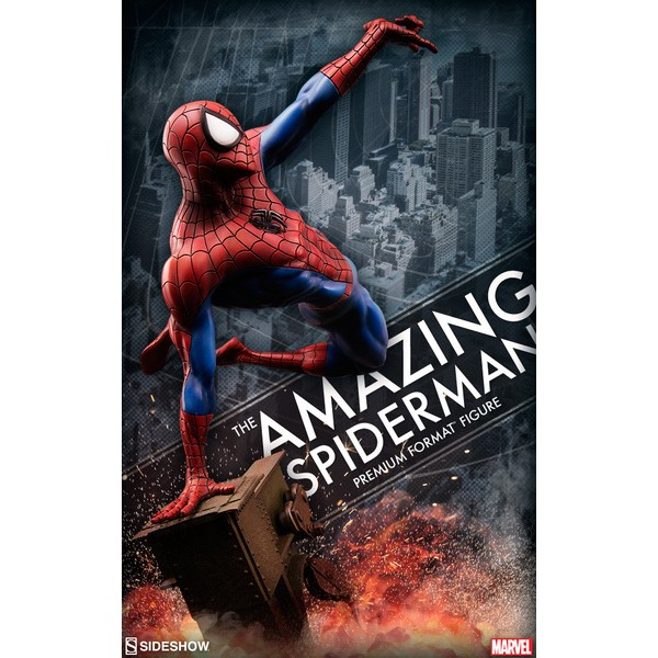 Sideshow Homem Aranha Premium Format?  - Movie Freaks Collectibles