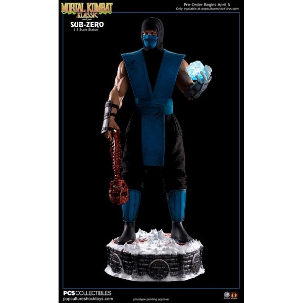 Pop Culture Shock SUB-ZERO 1:3 Statue  - Movie Freaks Collectibles