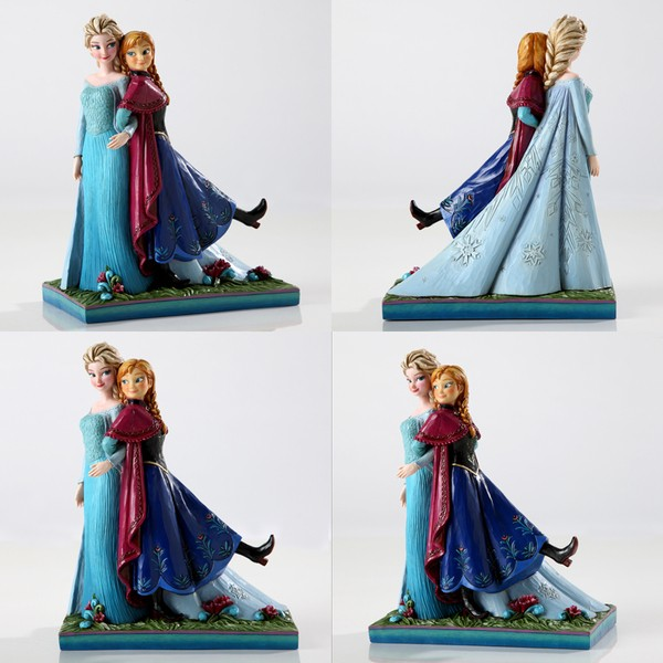 Jim Shore Anna and Elsa from Frozen Sisters Forever  - Movie Freaks Collectibles