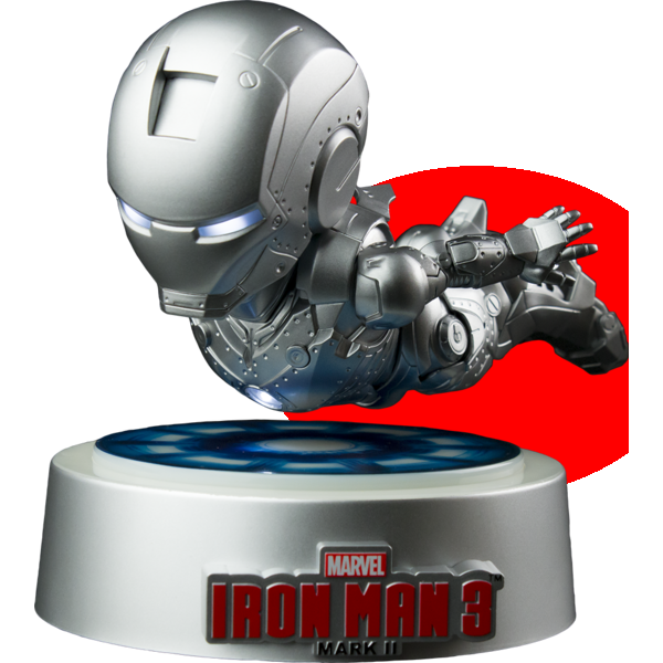 Beast Kingdom Homem de Ferro MK II Magnetic Floating Ver.  - Movie Freaks Collectibles