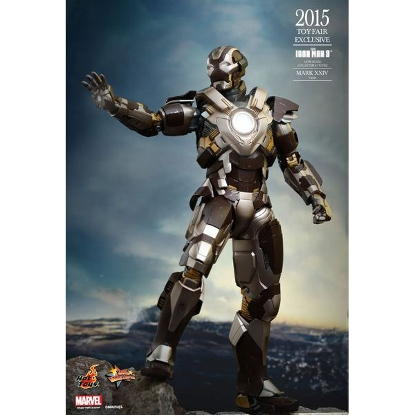 Hot Toys Homem de Ferro Mark XXIV ? Tank Exclusive Sideshow - Movie Freaks Collectibles