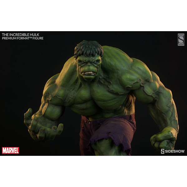 Sideshow The Incredible Hulk Premium Format EXclusive - Movie Freaks Collectibles