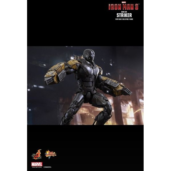 Hot Toys Homem de Ferro Mark 25 XXV Striker  - Movie Freaks Collectibles