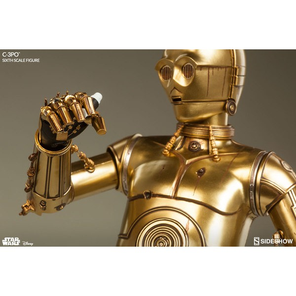 Sideshow Collectibles Star Wars C-3PO Deluxe 1/6 - Movie Freaks Collectibles