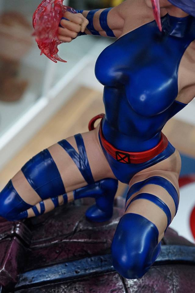 Angry Monkey Psylocke 1/4 Custom Statue  - Movie Freaks Collectibles