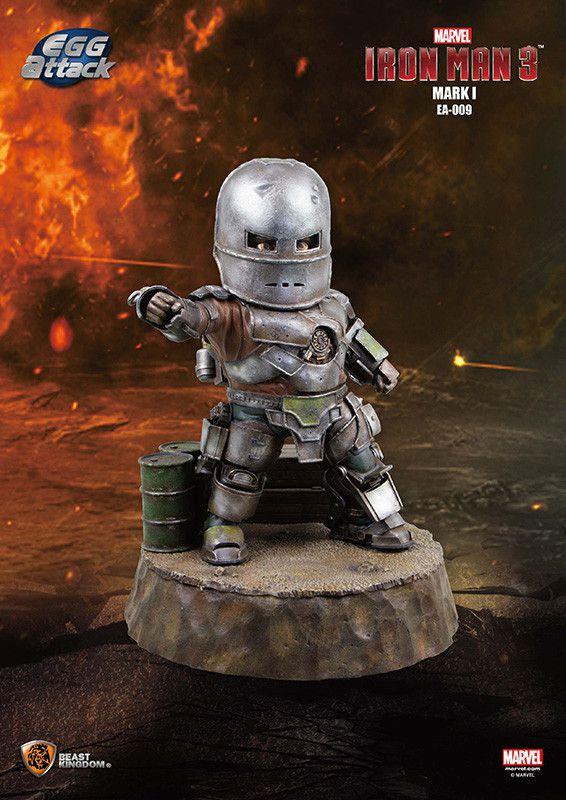 Beast Kingdom Iron Man Egg Attack EA-009 Iron Man / Homem de Ferro Mark I  - Movie Freaks Collectibles