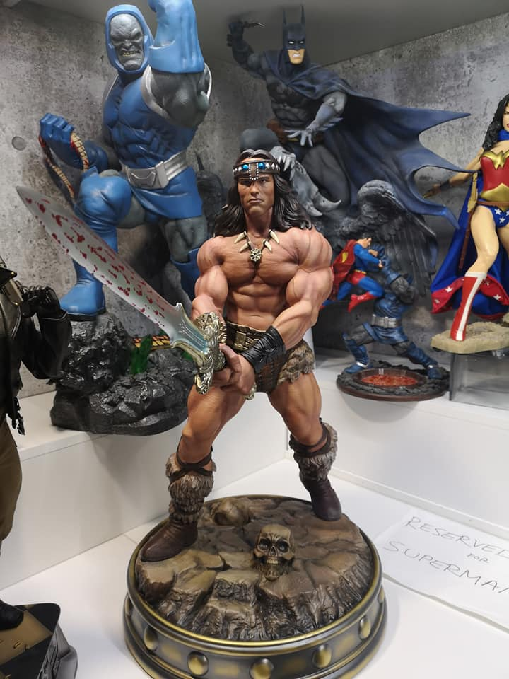 Conan The Barbarian Custom 1/4 Statue  - Movie Freaks Collectibles