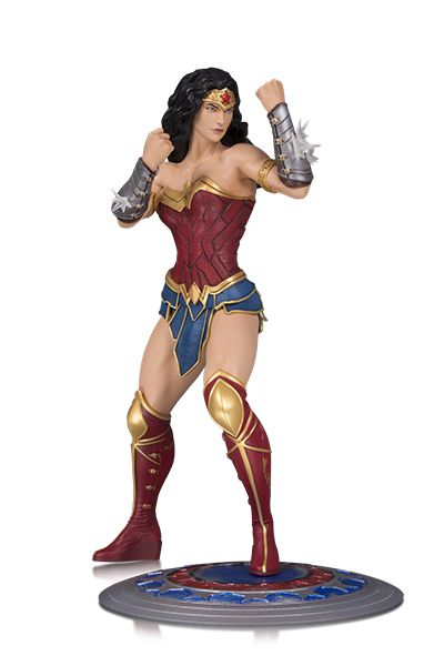 Dc Collectibles Dc Core Mulher Maravilha Pvc Statue  - Movie Freaks Collectibles