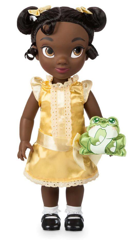 """Disney Animators´ Collection Boneca Tiana da """"Princesa e o Sapo"""" 40cm  - Movie Freaks Collectibles"""