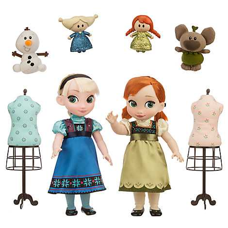 Disney Animators´ Collection Bonecas Anna and Elsa Deluxe Gift - 40cm  - Movie Freaks Collectibles