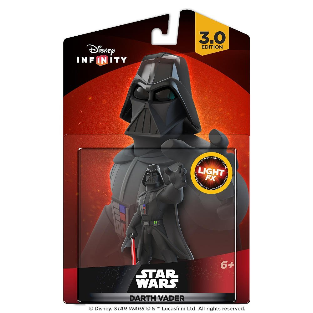 Disney Infinity 3.0 : Star Wars Darth Vader Light Fx Figure  - Movie Freaks Collectibles