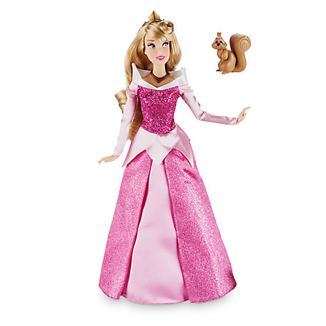 Disney Store Boneca Aurora com esquilo Modelo 2017  - Movie Freaks Collectibles