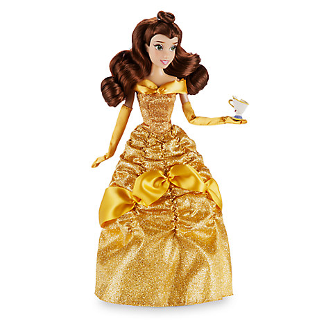 Disney Store Boneca Bela Com Chip 2016/17 - A Bela E A Fera  - Movie Freaks Collectibles