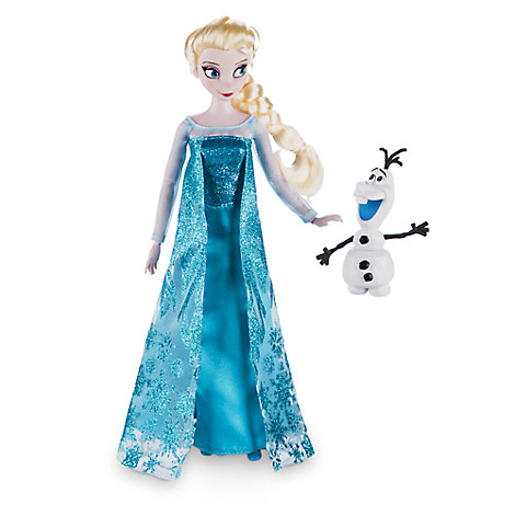 Disney Store Boneca Elsa com Olaf - Frozen 30cm - 2016/17 - Movie Freaks Collectibles