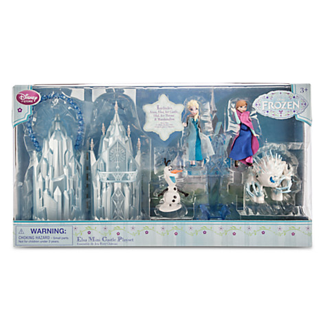 Disney Store Frozen Elsa Mini Castle Play Set  - Movie Freaks Collectibles