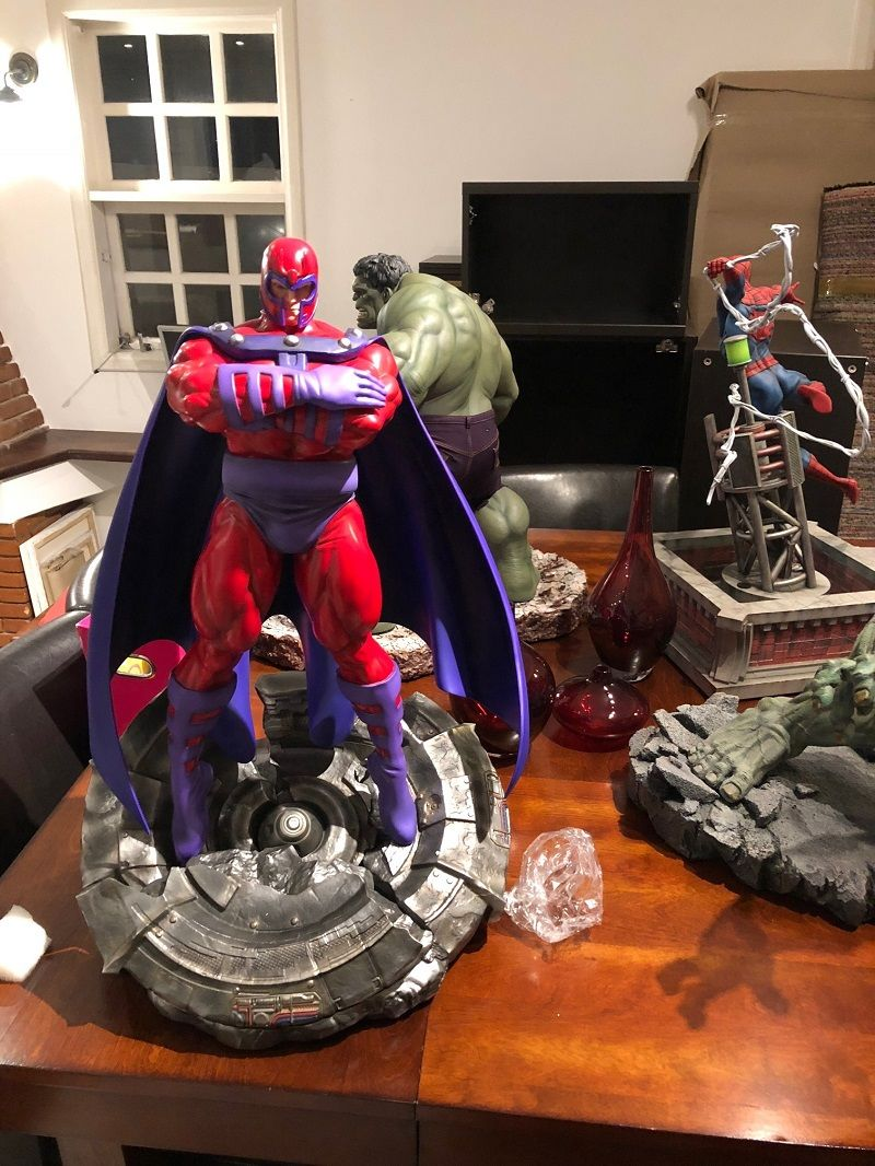 Erick Sosa Marvel Vs Capcom Magneto 1/4 scale  - Movie Freaks Collectibles