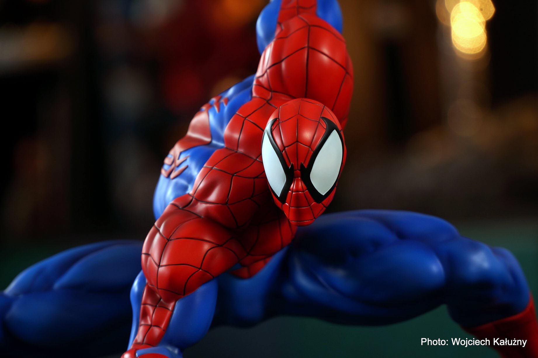 Erick Sosa Marvel Vs Capcom Spider-man Homem Aranha 1/4 scale Custom Statue  - Movie Freaks Collectibles