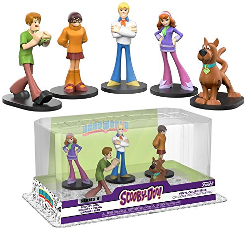 Funko Heroworld: Scooby-Doo [Series 5] 5pk Scooby-Doo, Salsicha, Velma, Daphne, and Fred  - Movie Freaks Collectibles