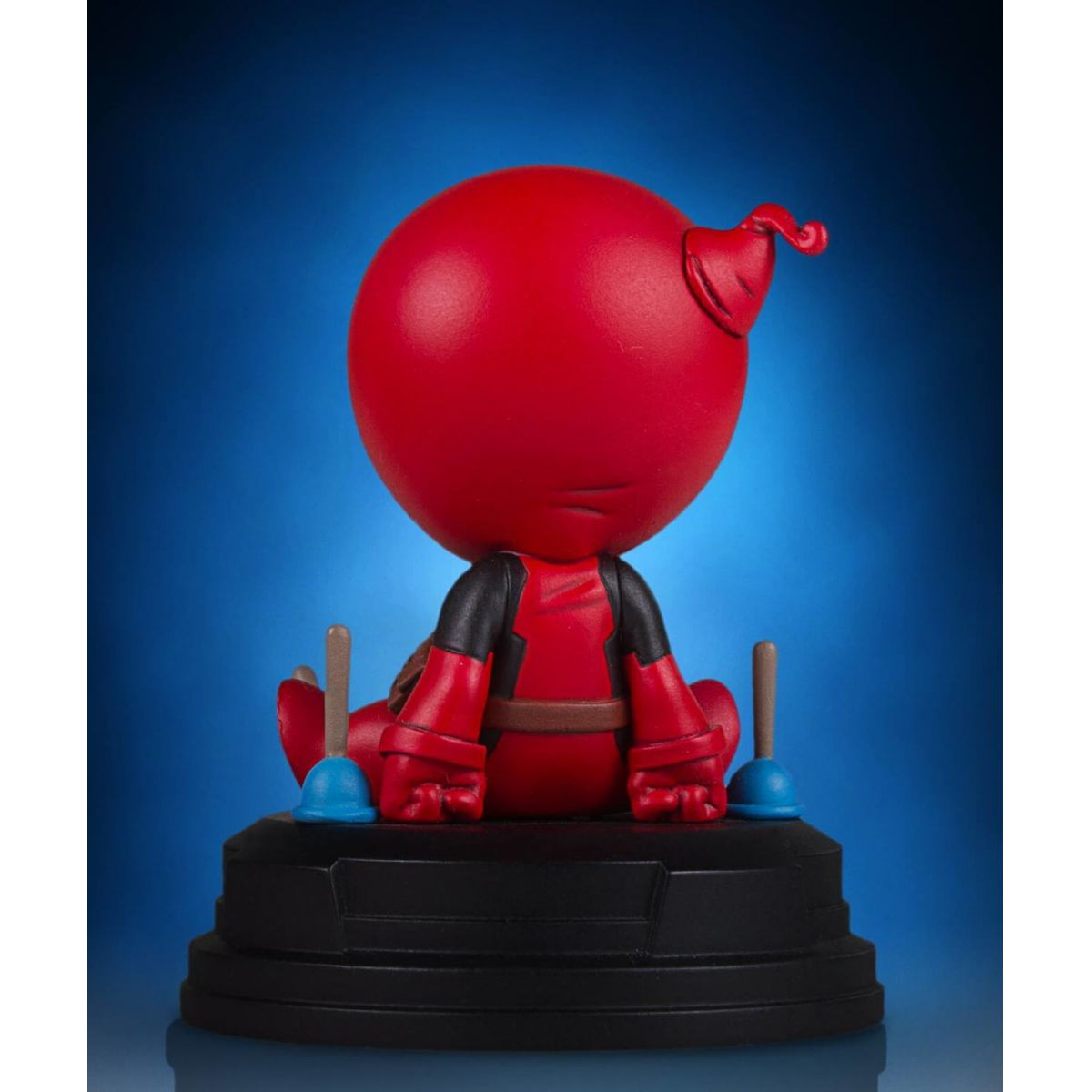 Gentle Giant Deadpool Skottie Young Animated Statue  - Movie Freaks Collectibles