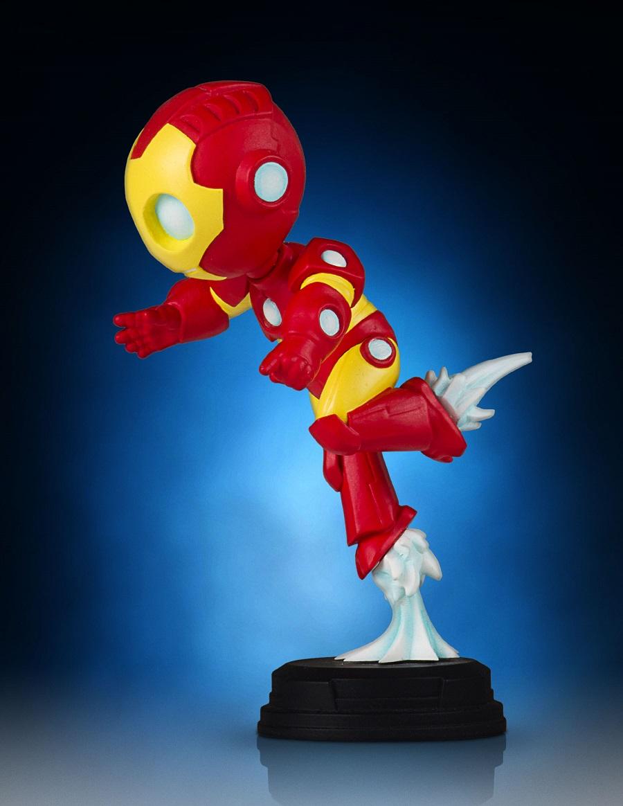 Gentle Giant Homem de Ferro Skottie Young Animated Statue  - Movie Freaks Collectibles