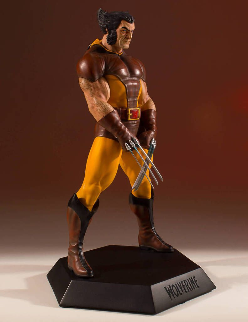 Gentle Giant Wolverine '80 Brown Costume Collectors Gallery Statue - Escala 1/8  - Movie Freaks Collectibles