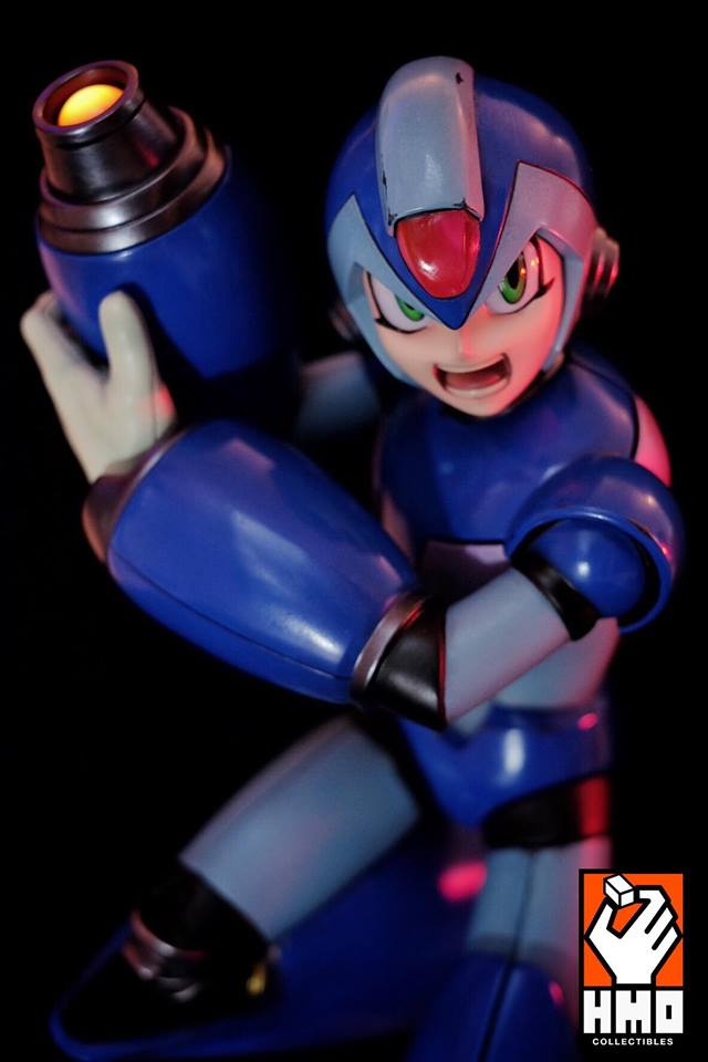 HMO Premium Megaman X Blue 1/4  statue  - Movie Freaks Collectibles