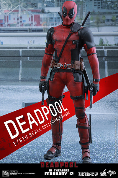 Hot Toys Deadpool 1/6   - Movie Freaks Collectibles