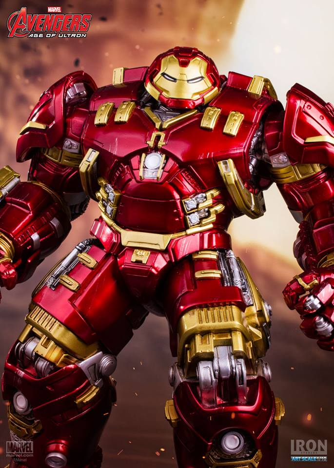 Iron Studios Age of Ultron Hulkbuster 1/10  - Movie Freaks Collectibles