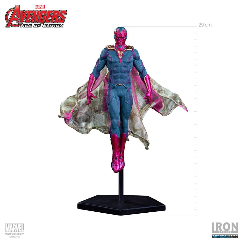 Iron Studios Age Of Ultron Vision 1/10 Statue  - Movie Freaks Collectibles