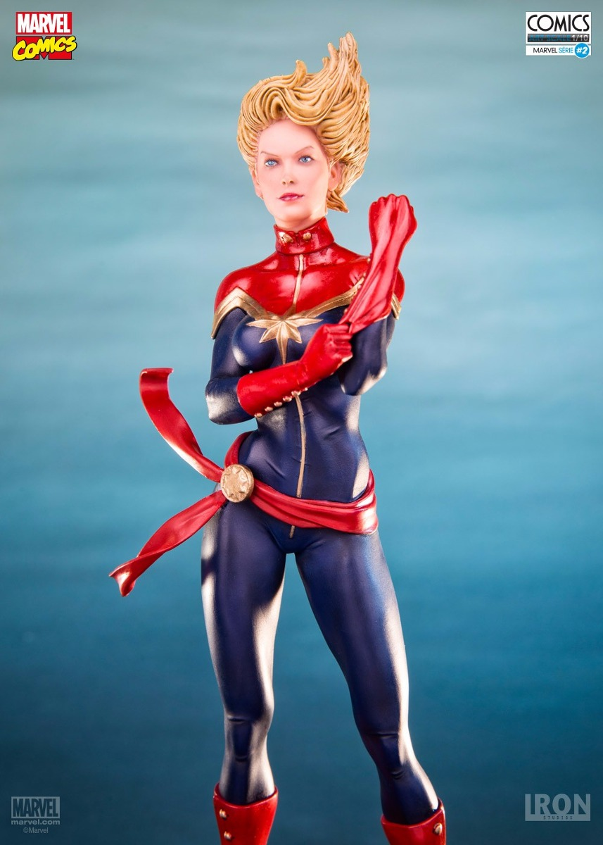 Iron Studios Captain Marvel 1/10 Art Scale  - Movie Freaks Collectibles