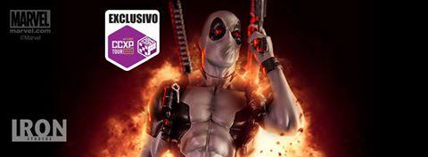 Iron Studios Deadpool X-force 1/10 Exclusive CCXP Tour 2017   - Movie Freaks Collectibles