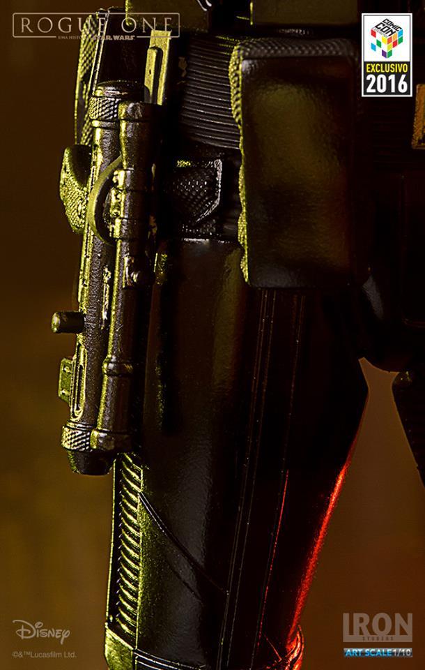 Iron Studios Death Trooper Combat Gear Art Scale 1/10 Star Wars Rogue One CCXP 2016  - Movie Freaks Collectibles