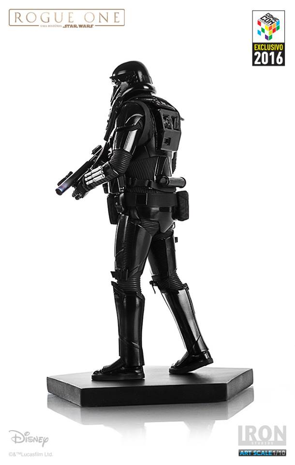 Iron Studios Death Trooper Combat Gear Art Scale 1/10 Star Wars Rogue One CCXP 2016  - Movie Freaks Collectibles