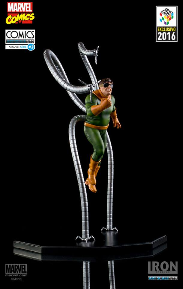 Iron Studios Doctor Octopus Art Scale 1/10 Marvel Comics Serie 3 Exclusive CCXP 2016  - Movie Freaks Collectibles