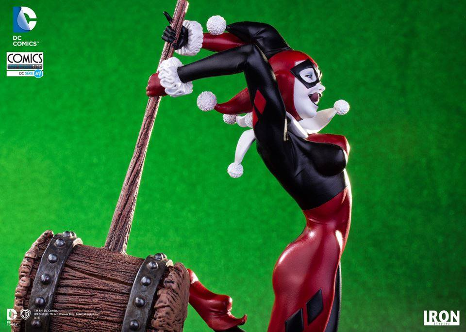 Iron Studios Harley Quinn 1/10 Art Scale  - Movie Freaks Collectibles