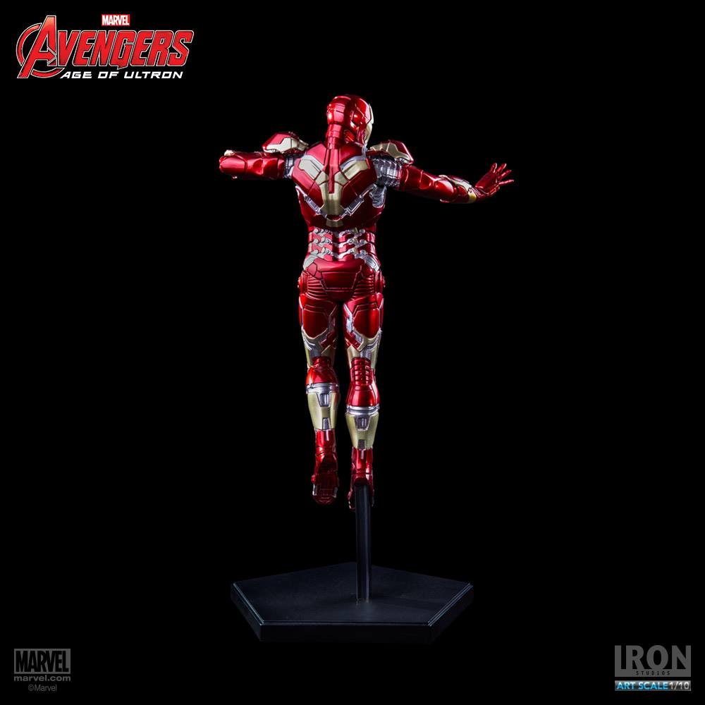 Iron Studios Homem de Ferro Mark XLIII 1/10 Art Scale Statue  - Movie Freaks Collectibles