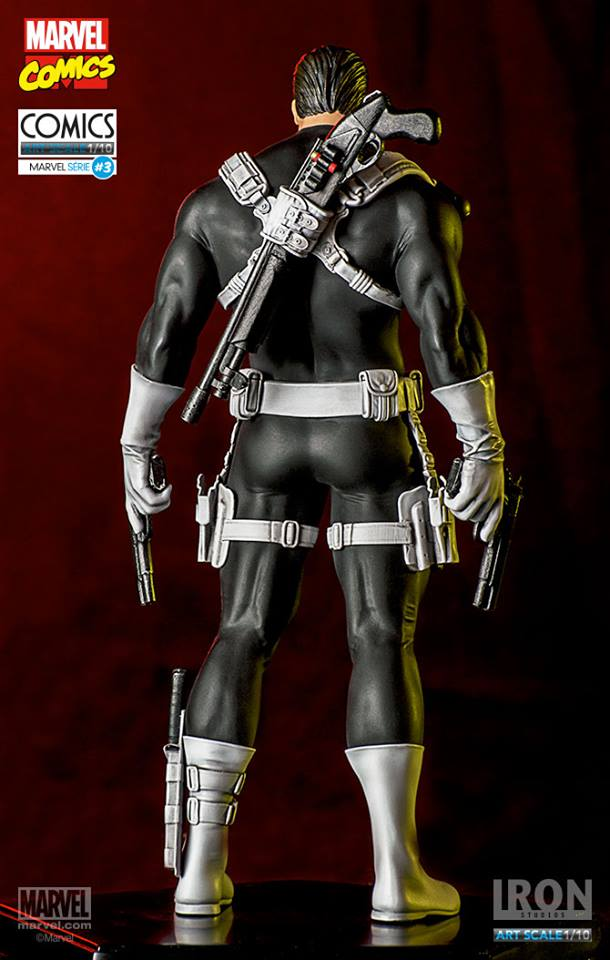 Iron Studios Justiceiro Punisher 1/10 Art Scale  - Movie Freaks Collectibles
