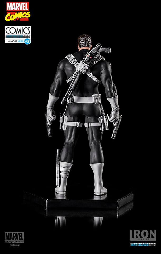 Iron Studios Justiceiro Punisher 1/10 Art Scale EXclusive  - Movie Freaks Collectibles