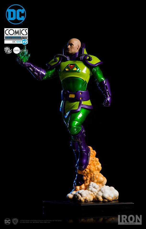 Iron Studios Lex Luthor Exclusive 1/10 Art Scale by Ivan Reis  - Movie Freaks Collectibles